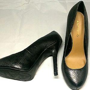 Women ANDIAMO CRIMSON 4 1/2 inch Heel Shoes